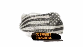 30 Brushes Transitions: Motion Graphics