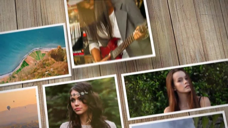 50 + photos slideshow: After Effects Templates