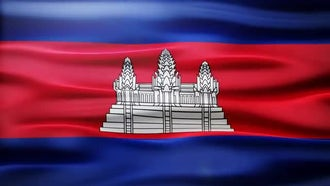 Cambodia Flag: Motion Graphics