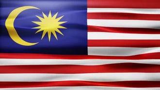 Malaysia Flag: Motion Graphics
