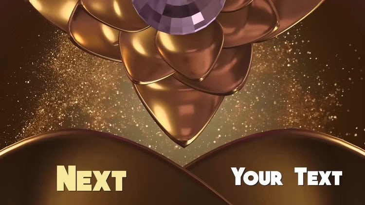 Premium Golden TV Broadcast: After Effects Templates
