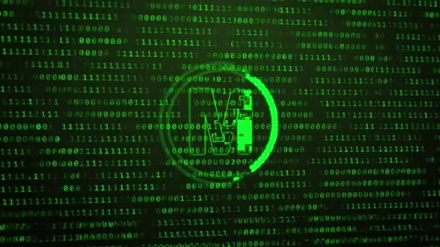 Binary Digital Tech Logo: After Effects Templates