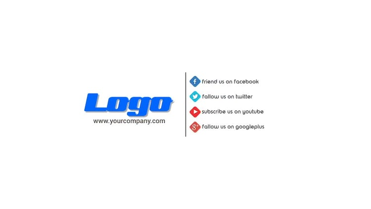 Social Media Promotion Logo Opener: After Effects Templates