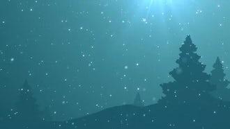 Winter Scene: Motion Graphics