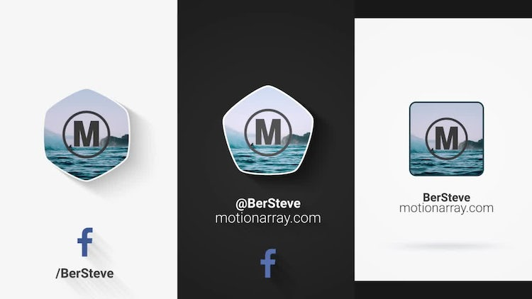Social Media and Logo Photo Opener: After Effects Templates