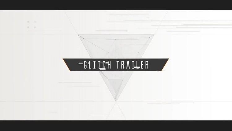 Cinematic Glitch Trailer: Premiere Pro Templates