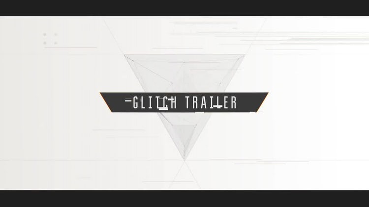 Cinematic Glitch Trailer: Premiere Pro Templates