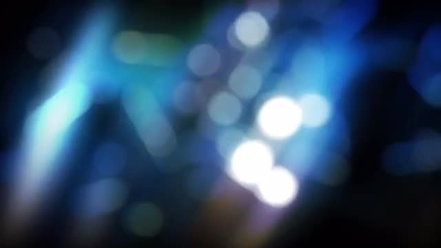 Lights Bokeh Background: Stock Motion Graphics