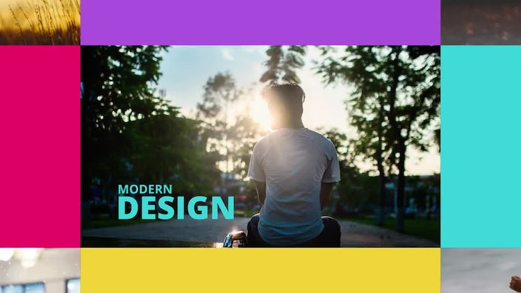 Colorful Dynamic Opener: After Effects Templates
