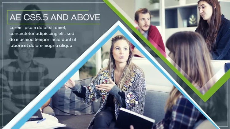 Clean Business Slides: After Effects Templates