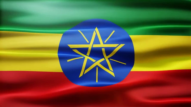 Ethiopia Flag: Stock Motion Graphics
