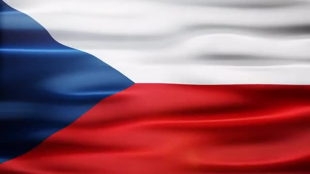 Czech Flag: Stock Motion Graphics