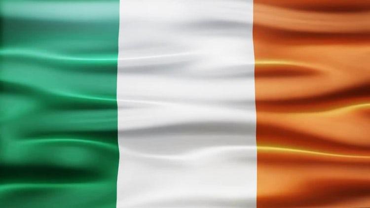 Ireland Flag: Stock Motion Graphics