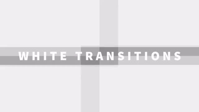 White Transitions: Stock Motion Graphics