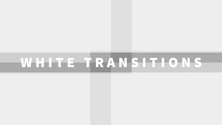White Transitions: Motion Graphics