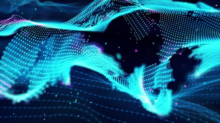 Abstract Waves: Stock Motion Graphics
