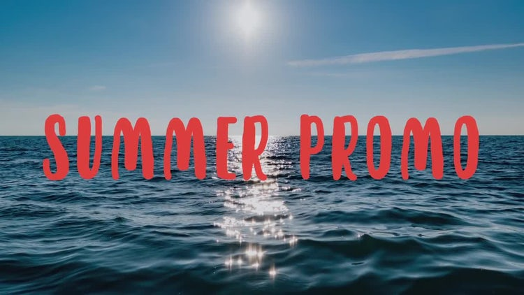 Summer Promo: After Effects Templates