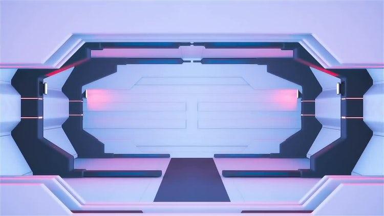 Spaceship Corridor: Motion Graphics