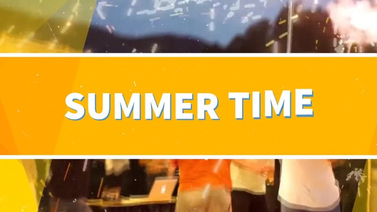 Summer Time: After Effects Templates
