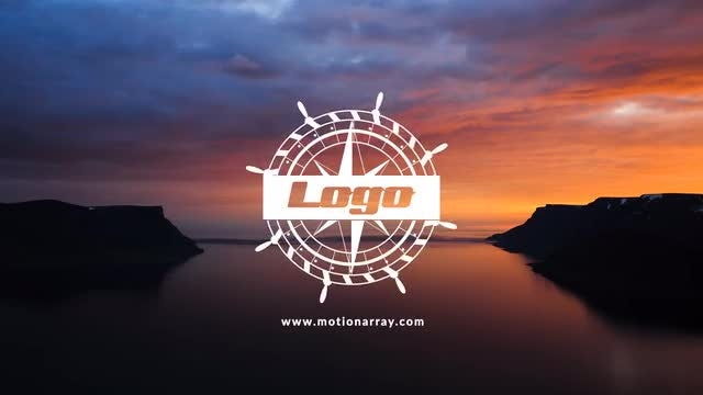 Vintage Sea Logo Reveal: After Effects Templates