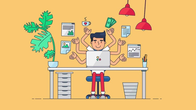 Creative Workspace: Stock Motion Graphics