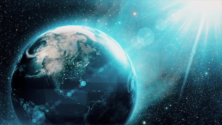 Earth From Space: Motion Graphics
