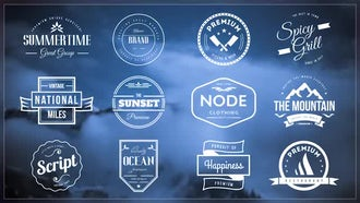 Vintage Labels And Titles: After Effects Templates