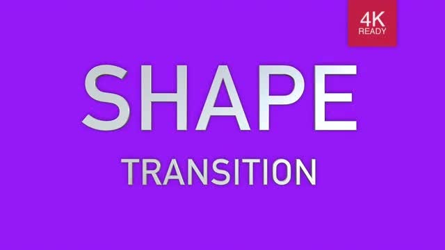 30 Shape Transition: Stock Motion Graphics