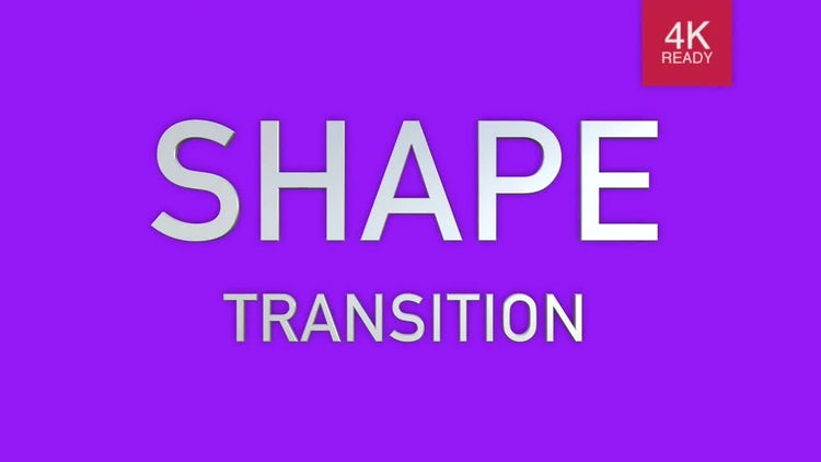 30 Shape Transition: Stock Motion Graphics