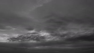 Black & White Sky: Stock Video