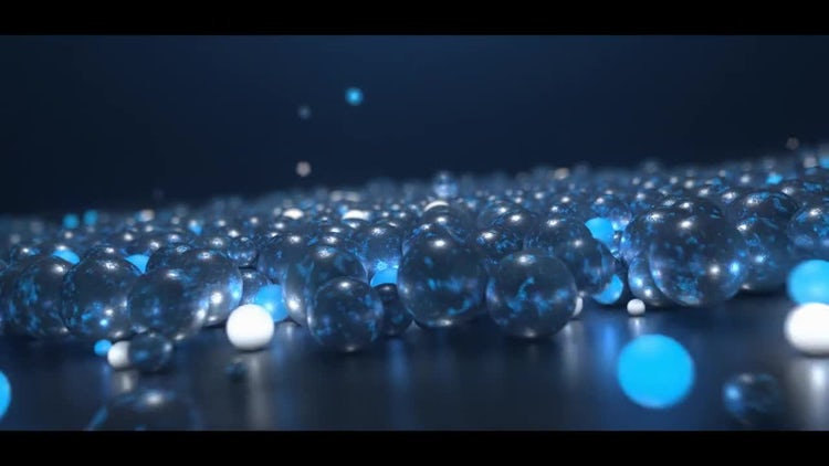Glow Spheres Logo: After Effects Templates