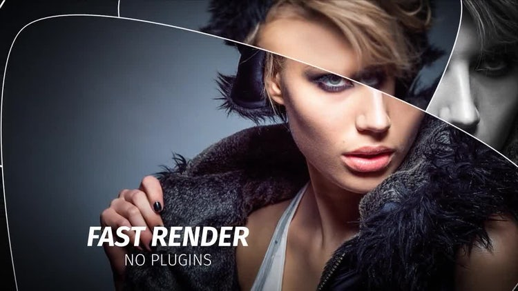 Triangles Photo SlideShow: After Effects Templates