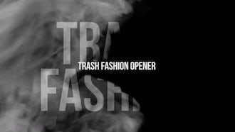 Trash Fashion Opener: Premiere Pro Templates