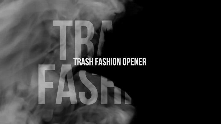 Trash Fashion Opener: Premiere Pro Templates