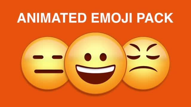Emoji Pack: Stock Motion Graphics