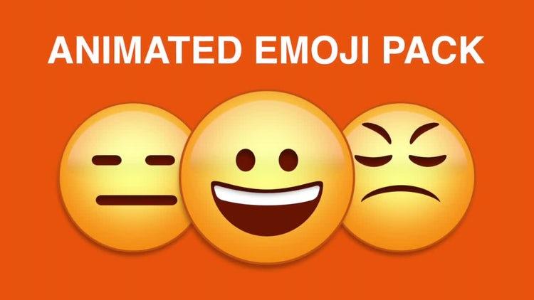 Emoji Pack: Stock Motion Graphics