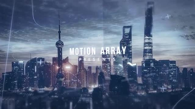 Modern Parallax Slideshow Opener: After Effects Templates