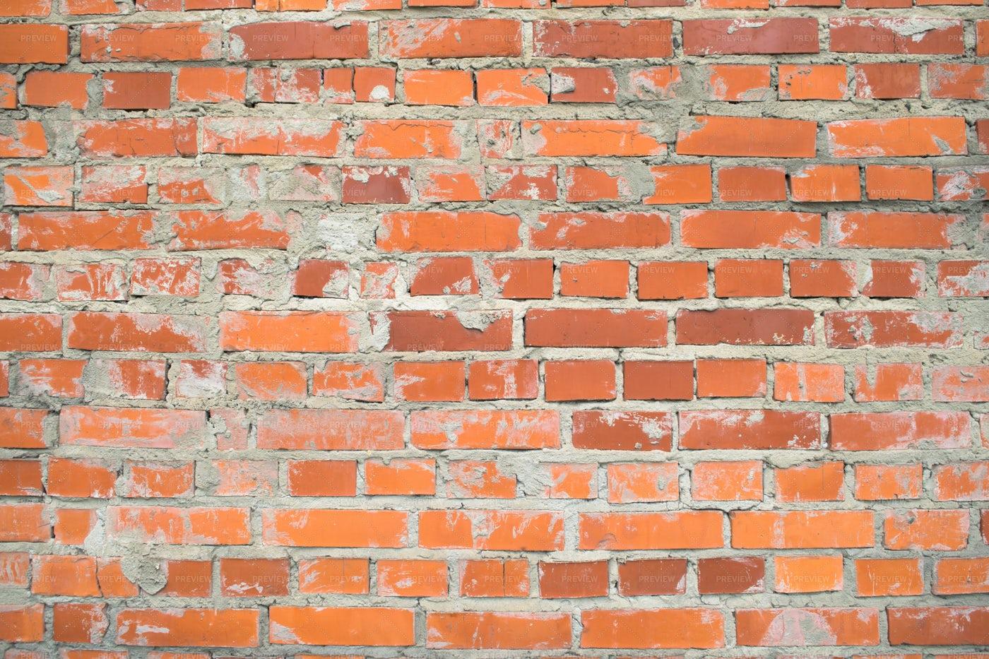 Red Brick Wall Texture: Stock Photos