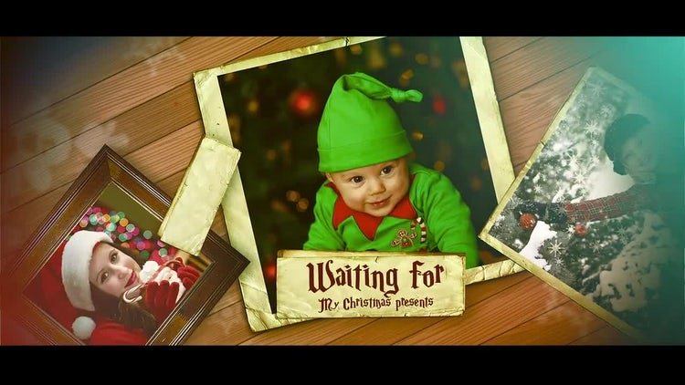 Christmas Family Slideshow: After Effects Templates