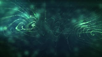 Abstaract Particles Background 1: Motion Graphics