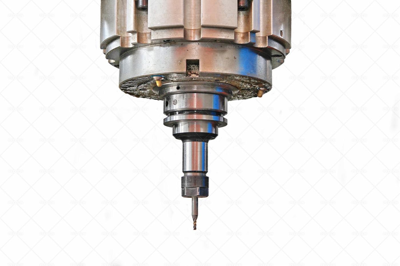 Drilling Machine, Cnc Machine: Stock Photos