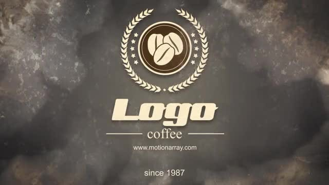 Present Coffee Logo: After Effects Templates