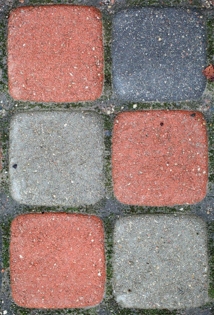 Colorful Paved Blocks: Stock Photos