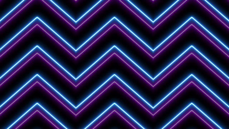 Verticle Neon Background: Stock Motion Graphics
