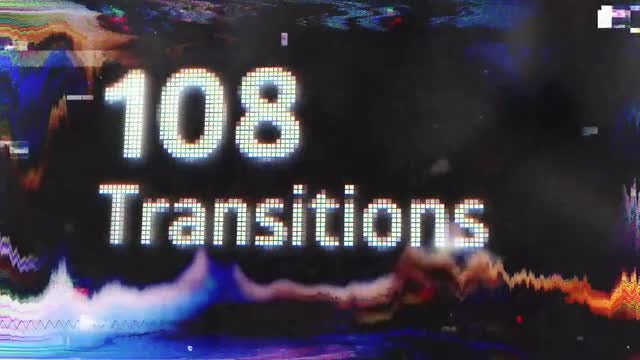 108 Transitions: Premiere Pro Templates