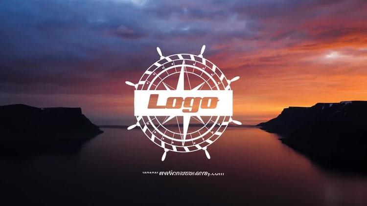 Vintage Sea Logo Reveal: Premiere Pro Templates