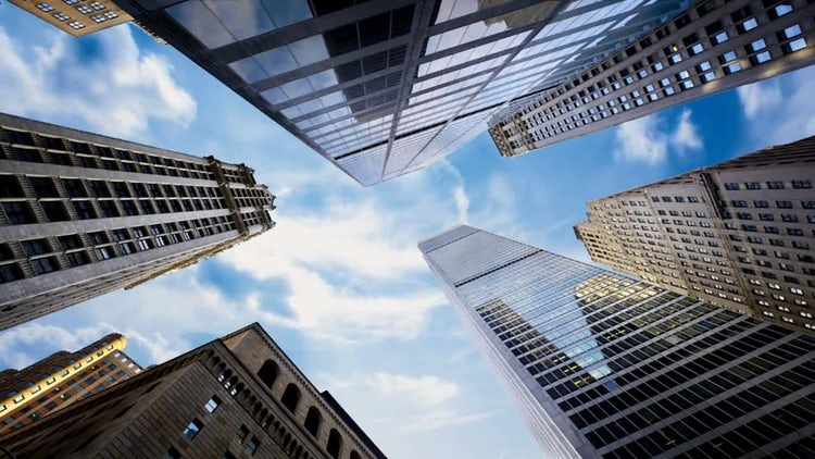 Skyscrapers: Stock Video