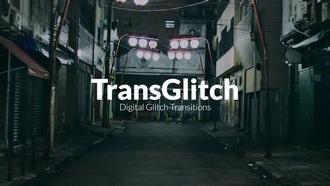 TransGlitch: Premiere Pro Templates