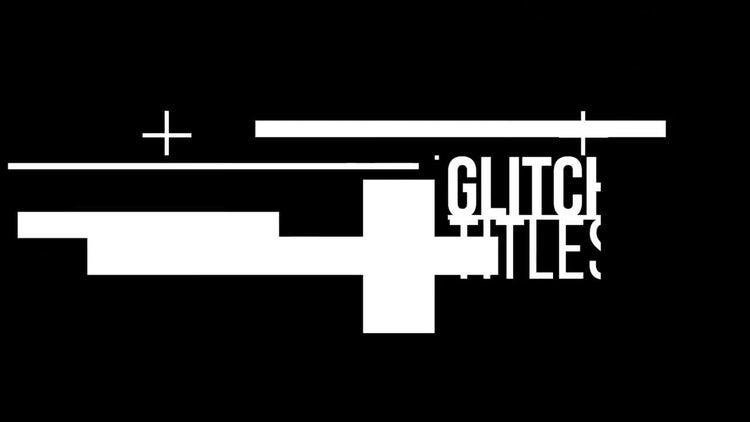 Colored Glitch Titles: Premiere Pro Templates