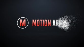 Disintegrate to Particles: After Effects Templates